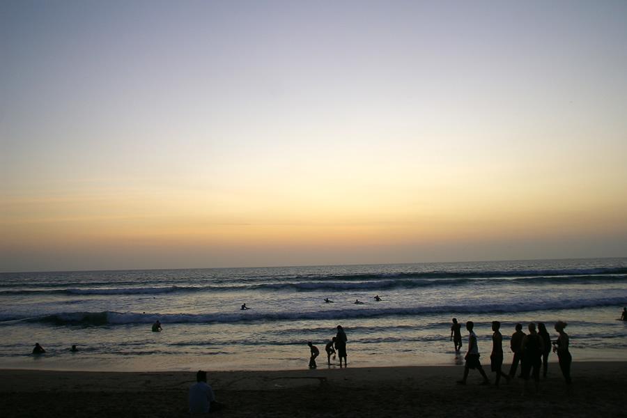 バリの海辺【娘2人と楽しむ楽園バリ】